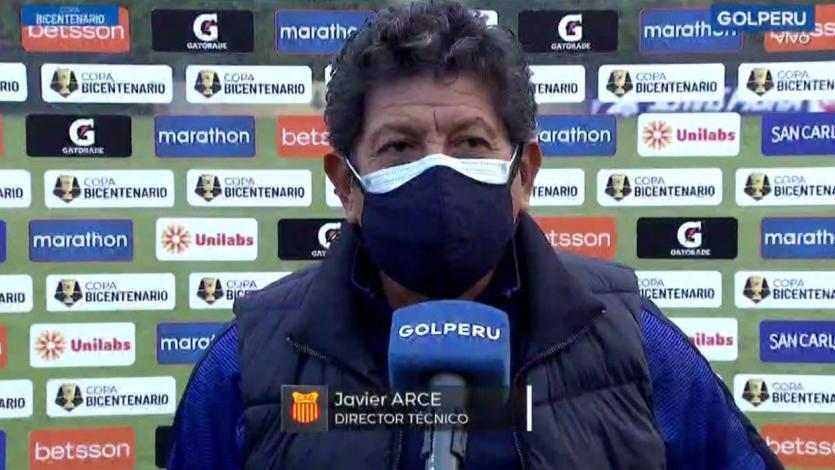"""Javier Arce: """"El resultado tranquiliza pues nos hace ver que estamos haciendo bien las cosas"""" (VIDEO)"""