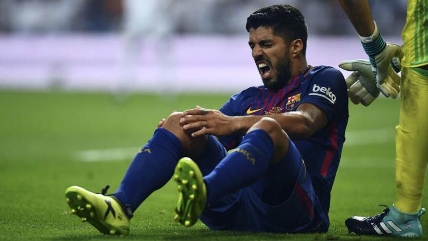 Luis Suárez estará de baja cuatro meses y se perdería lo que resta de la temporada