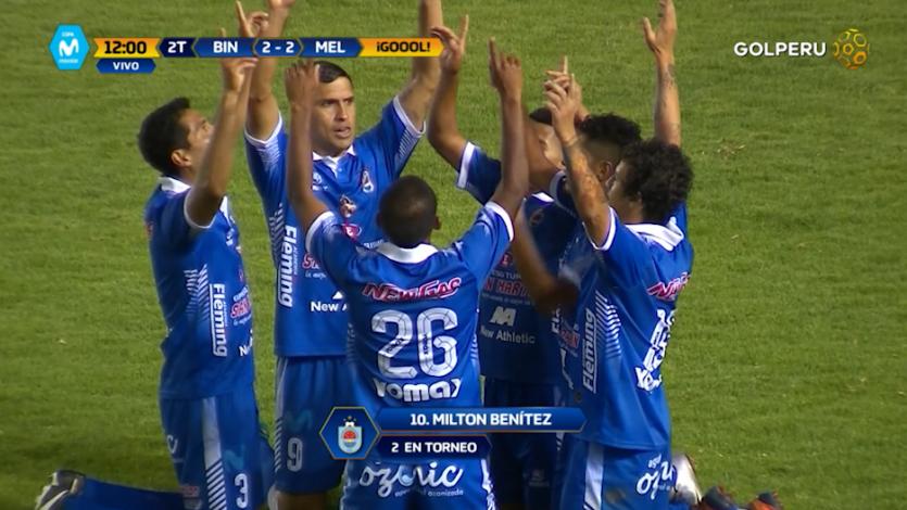 EN VIVO por GOLPERU: Deportivo Binacional 2-2 Melgar