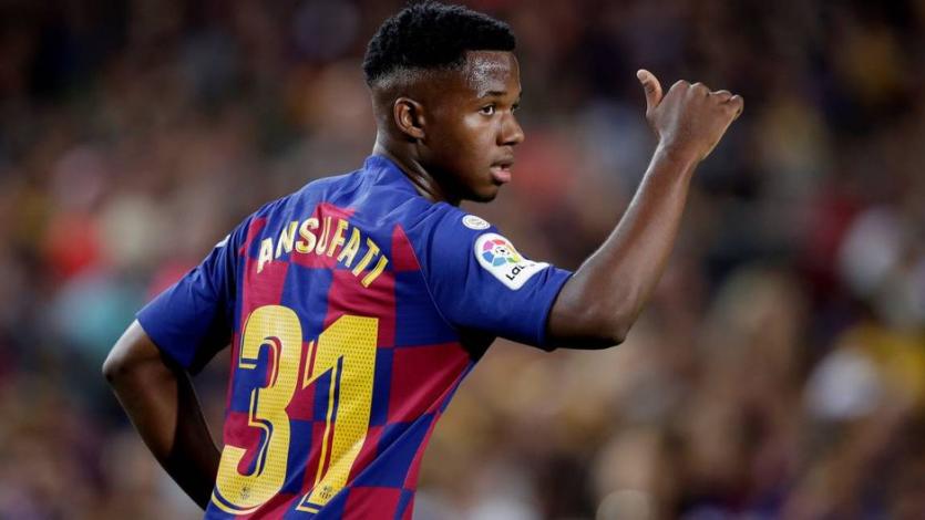 Manchester United ofrece 100 millones de euros por Ansu Fati