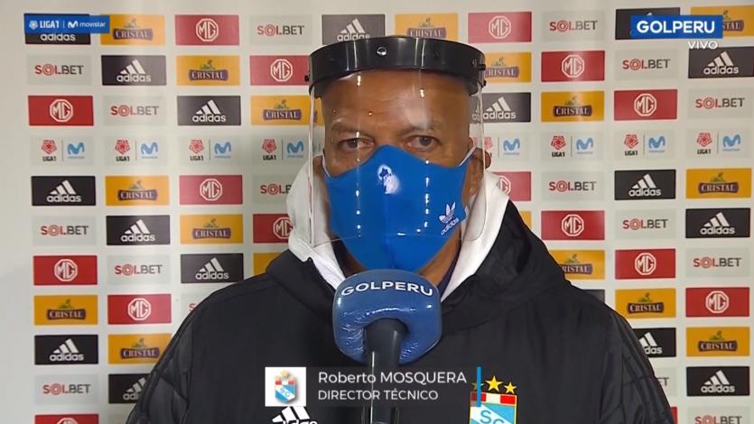 """Roberto Mosquera: """"Apelamos al carácter del equipo para ganar el partido"""""""