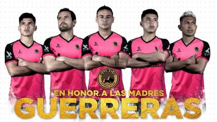 Liga1 Betsson: Cusco FC lanzó camiseta exclusiva en honor a las todas las madres