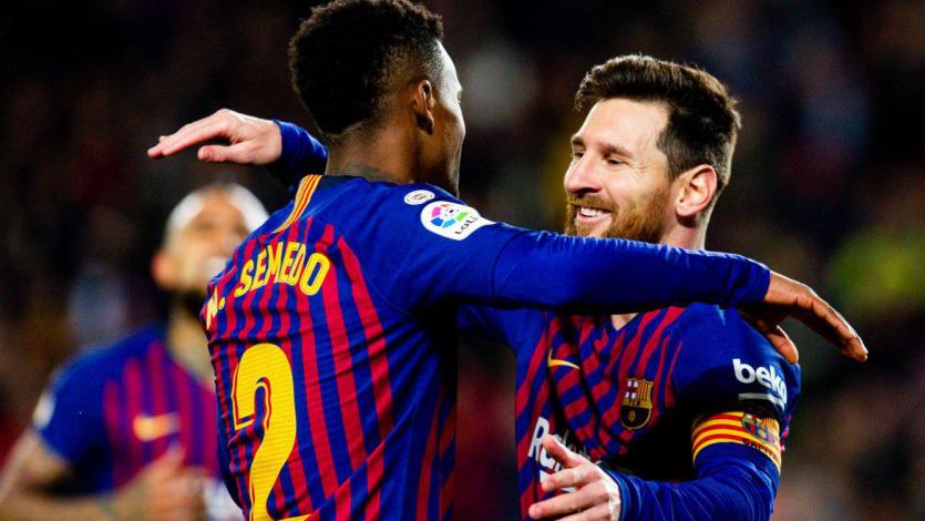 Barcelona golea al Levante al ritmo de Messi y Dembélé