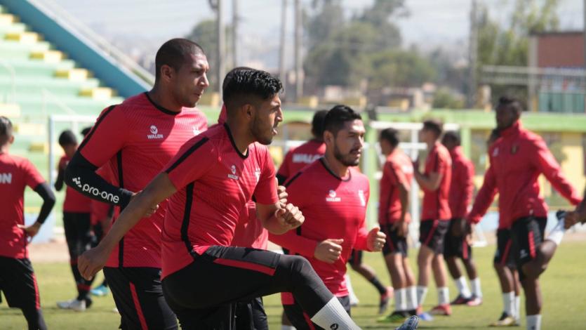 FBC Melgar quedó listo para enfrentar a Deportivo Binacional