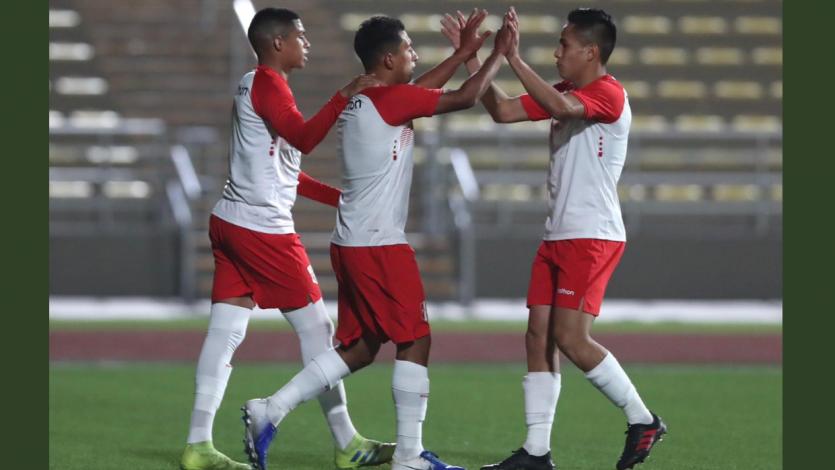 Seleccion Peruana Sub 23 choca ante Uruguay por los Juegos Panamericanos Lima 2019