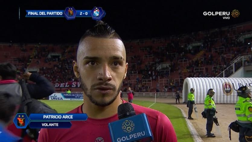 Patricio Arce: