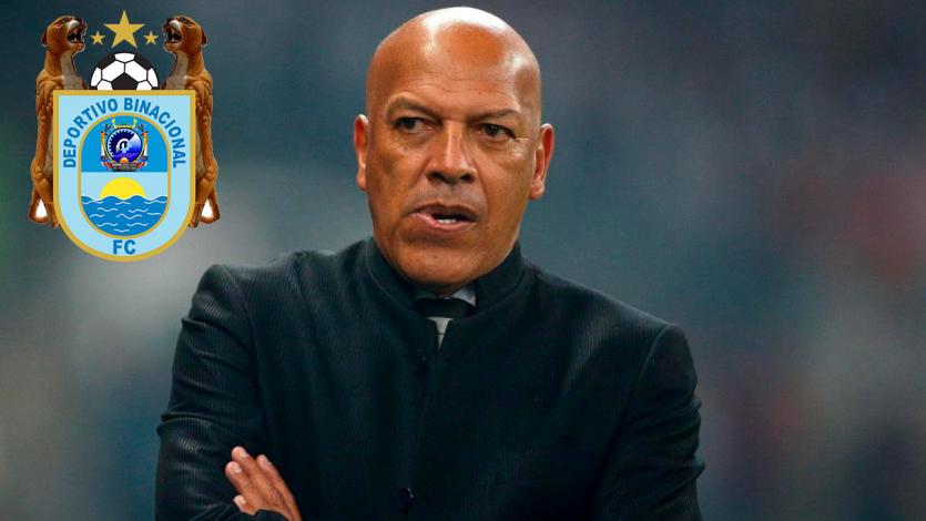 Oficial: Roberto Mosquera es nuevo técnico de Deportivo Binacional