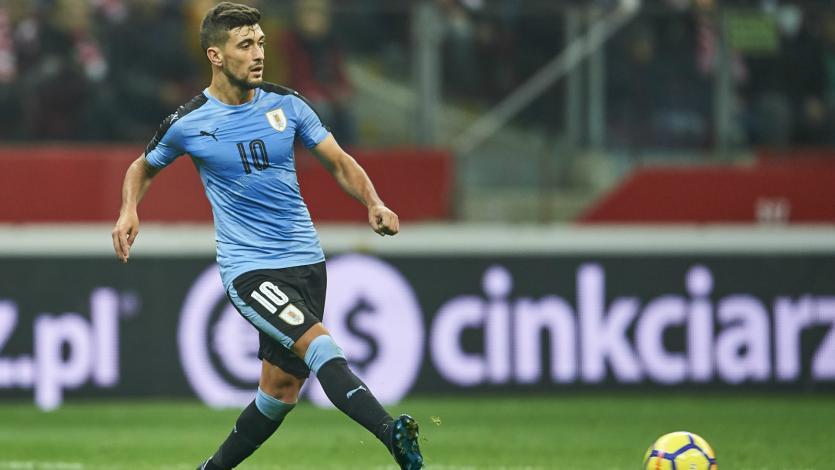 El uruguayo Giorgian De Arrascaeta se lesionó y se perderá los amistosos contra Perú