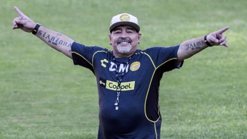 Diego Maradona fue dado de alta y alista su vuelta a Dorados de Sinaloa