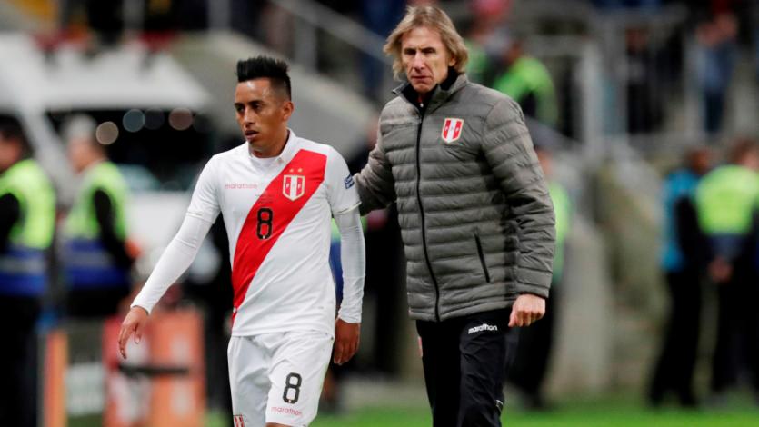 """Ricardo Gareca sobre Christian Cueva: """"Es importante que sea muy bueno en el campo y fuera del mismo"""""""