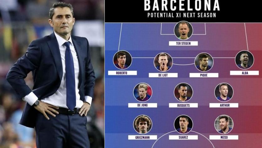 Barcelona: mira el posible brutal 11 que buscaría ganar todo la próxima temporada