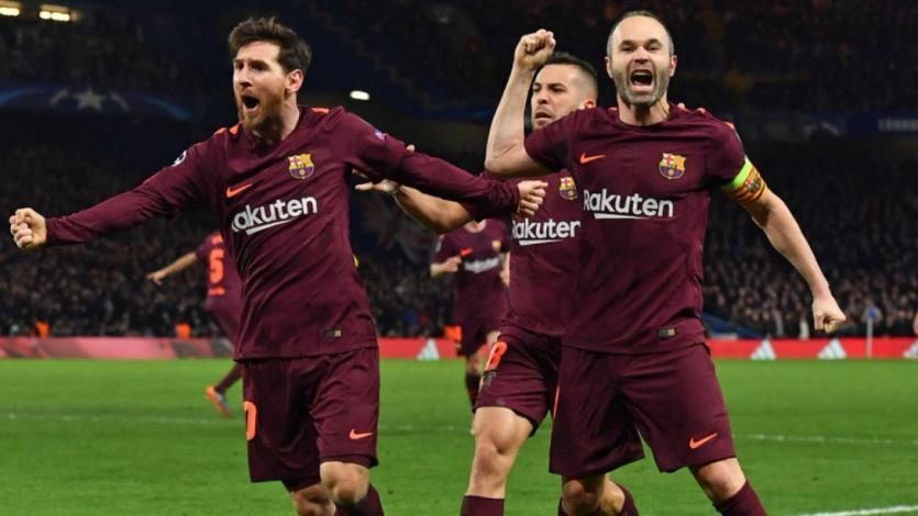 Barcelona saca un empate de Stamford Bridge (1-1)