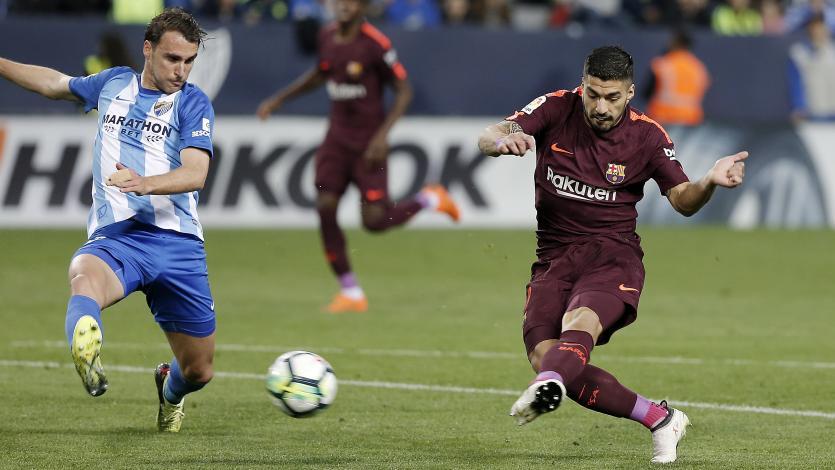 Sin Messi, Barcelona ganó en Málaga y conserva su ventaja en La Liga