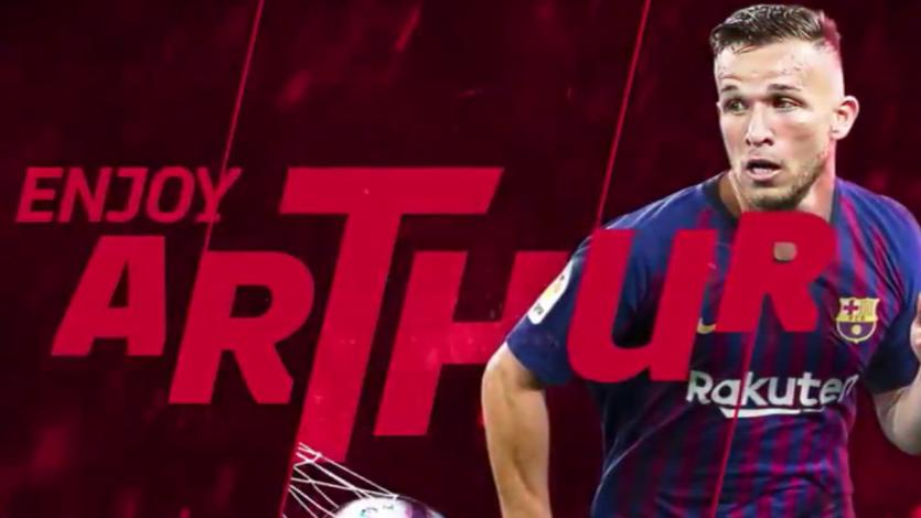 Barcelona hace oficial el fichaje de Arthur