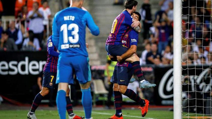 Barcelona empató 1-1 ante el Valencia