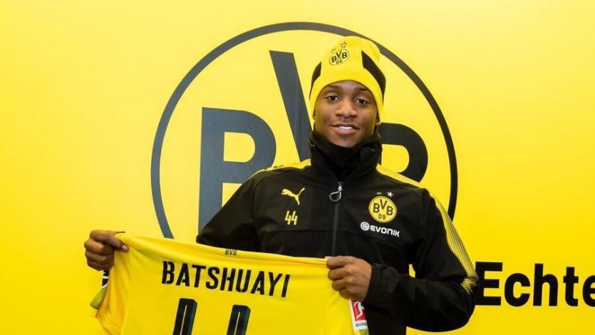 Michy Batshuayi llega cedido al Borussia Dortmund