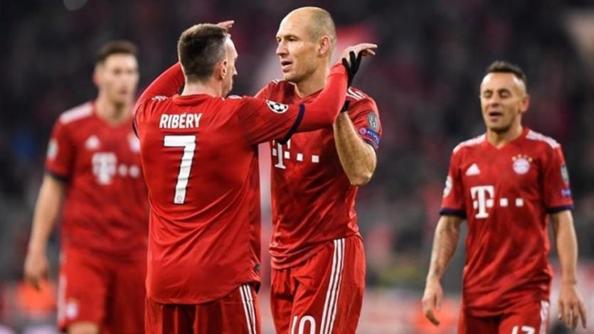 Robben y Ribery dejarán el Bayern al final de la temporada