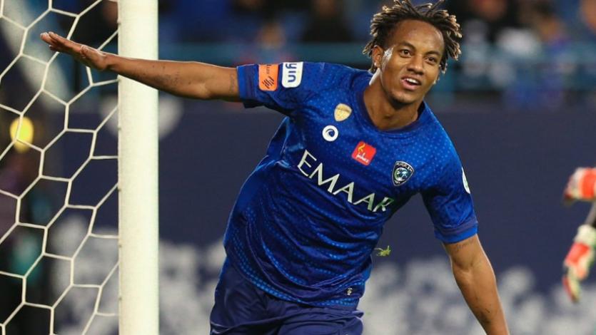 André Carrillo anotó por segunda vez consecutiva para el Al Hilal en Arabia Saudita (VIDEO)