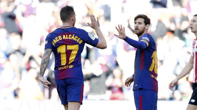 Barcelona no tropieza en la Liga y vuelve a ganar de la mano de Messi