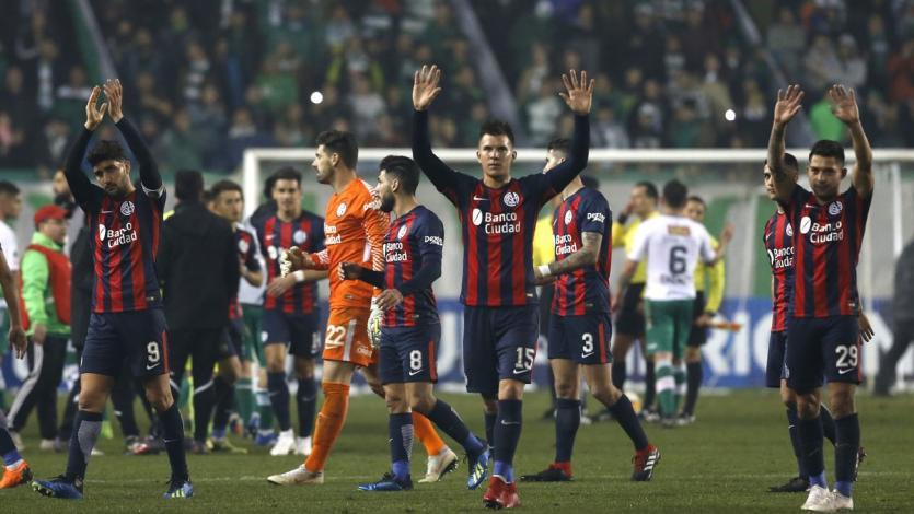 San Lorenzo avanzó en la Copa Sudamericana a pesar de caer ante Deportes Temuco