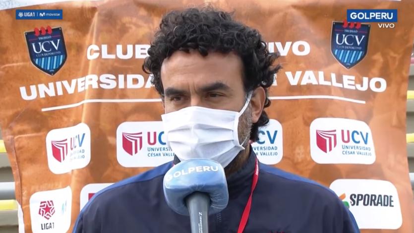 """Fernando Del Solar, asistente técnico de César Vallejo: """"Tenemos un plantel corto pero muy competitivo"""""""