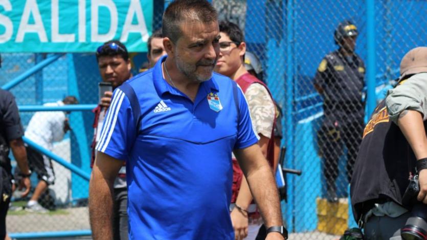 Claudio Vivas analizó la derrota de Sporting Cristal ante Zulia por Copa Sudamericana