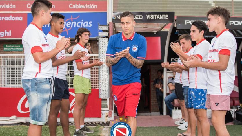 Beto Da Silva fue presentado en Argentinos Juniors