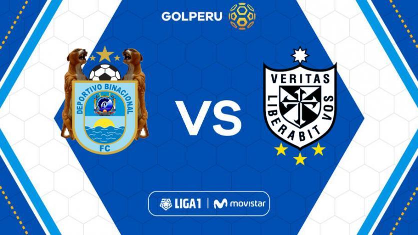 Deportivo Binacional y la Universidad San Martín abren la fecha 9