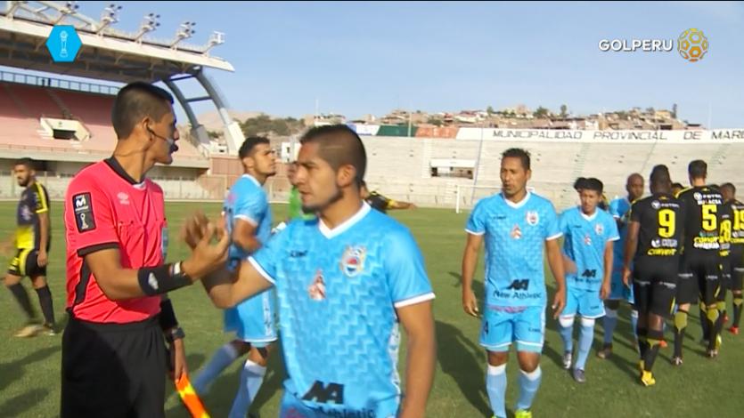 Deportivo Binacional derrotí 1-0 a UTC