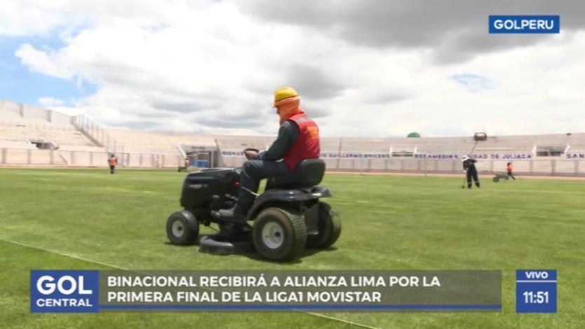 Binacional vs. Alianza Lima: Así es el mantenimiento de la cancha en el Estadio Guillermo Briceño