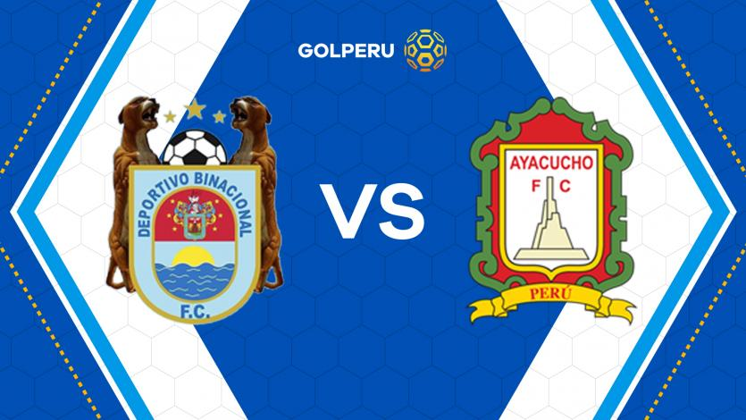 Binacional y Ayacucho FC abren el telón de la fecha 9