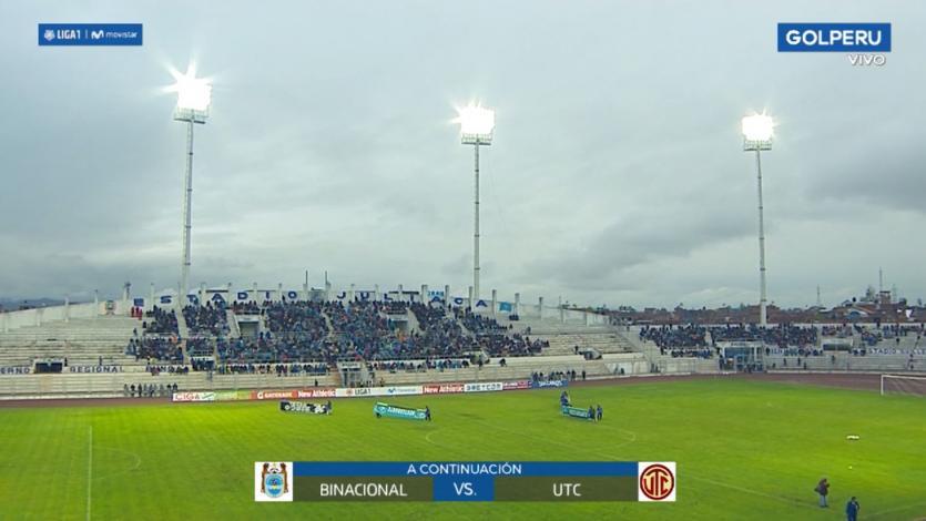 Deportivo Binacional: el Estadio Guillermo Briceño de Juliaca estrenó luces artificiales (VIDEO)