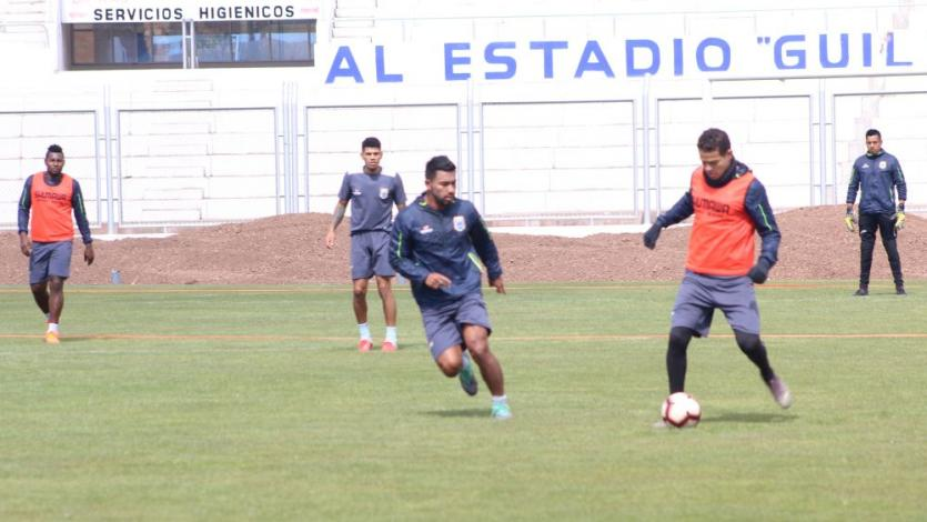 Binacional: así se preparan los celestes de cara al partido con laAcademia Deportiva Cantolao (FOTOS)