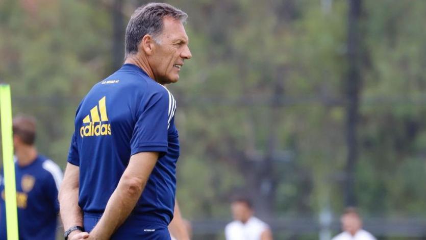 Universitario vs Boca: Miguel Ángel Russo presentó a sus convocados con Tevez a la cabeza