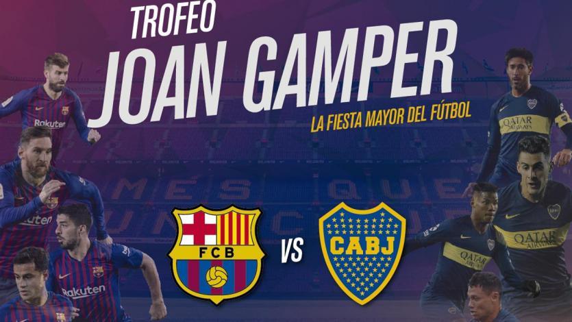 Boca Juniors viajó a España para enfrentar al Barcelona
