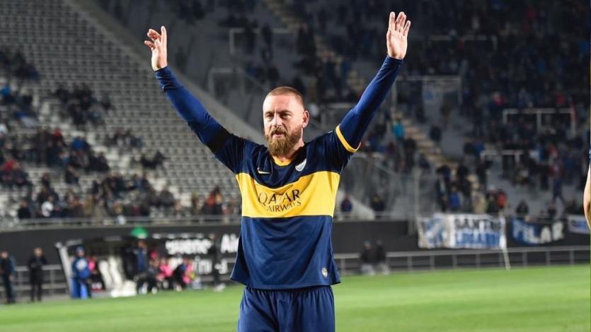 Copa Argentina: Daniele De Rossi tuvo su debut soñado con Boca, pero fueron eliminados (VIDEO)
