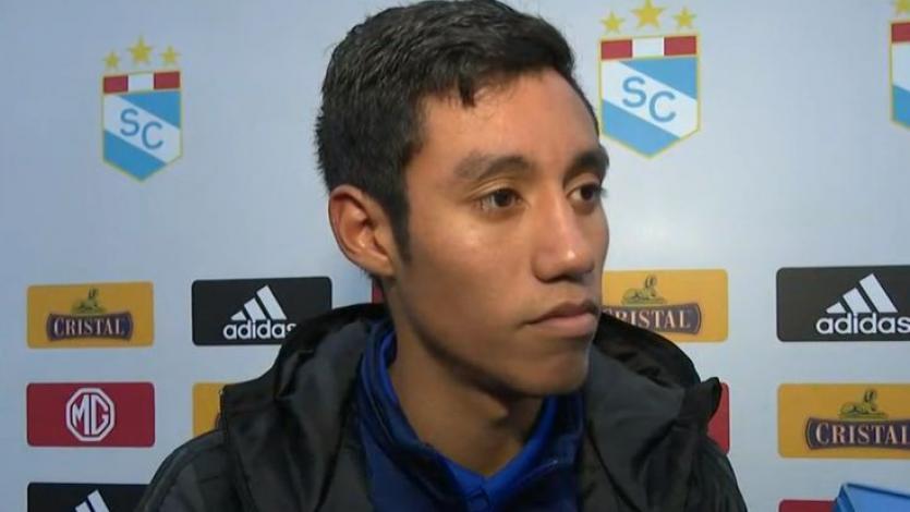 Brandon Palacios y su emoción por anotar en su debut con Sporting Cristal (VIDEO)