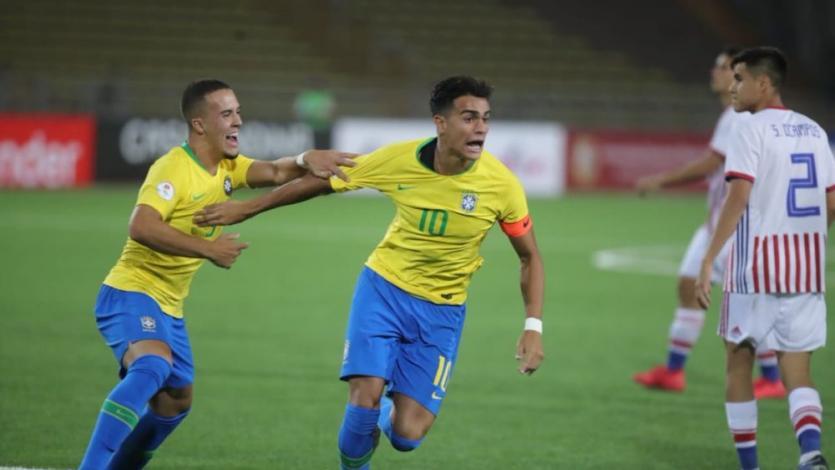 Sudamericano Sub 17 Perú 2019: Brasil venció 3-2 a Paraguay en un partidazo (VIDEO)