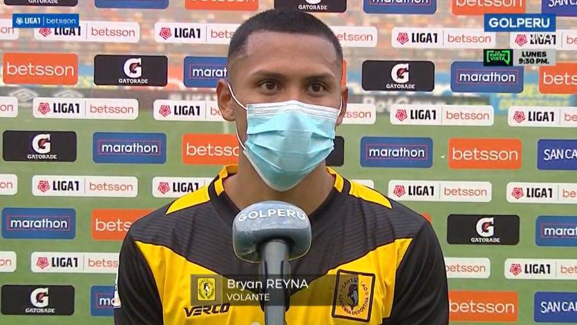 """Bryan Reyna: """"Estamos cansados de perder pues estamos trabajando duro, pero ya se dará"""