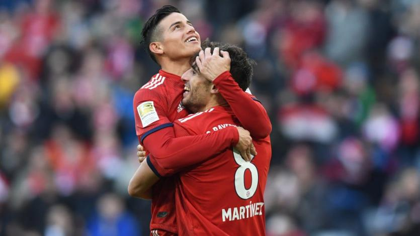 Bundesliga: Bayern Múnich hacer los deberes y toma la punta