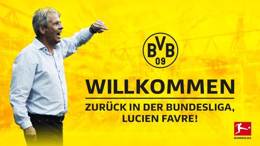 Bundesliga: Lucien Favre es el nuevo DT del Borussia Dortmund