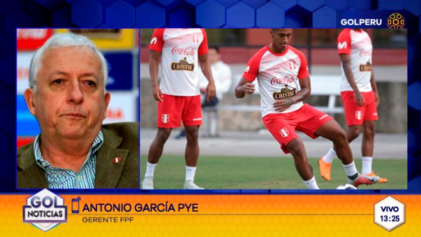 García Pye sobre amistosos de la selección en marzo de 2019: