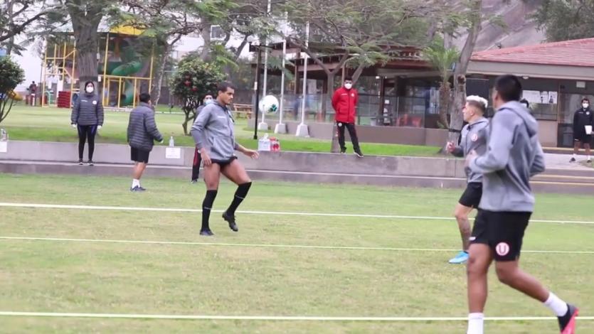 Universitario: Iván Santillán y Nelinho Quina dieron detalles del segundo día de entrenamiento