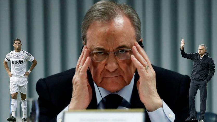 Real Madrid: se filtran audios de Florentino Pérez insultando a Cristiano Ronaldo y José Mourinho