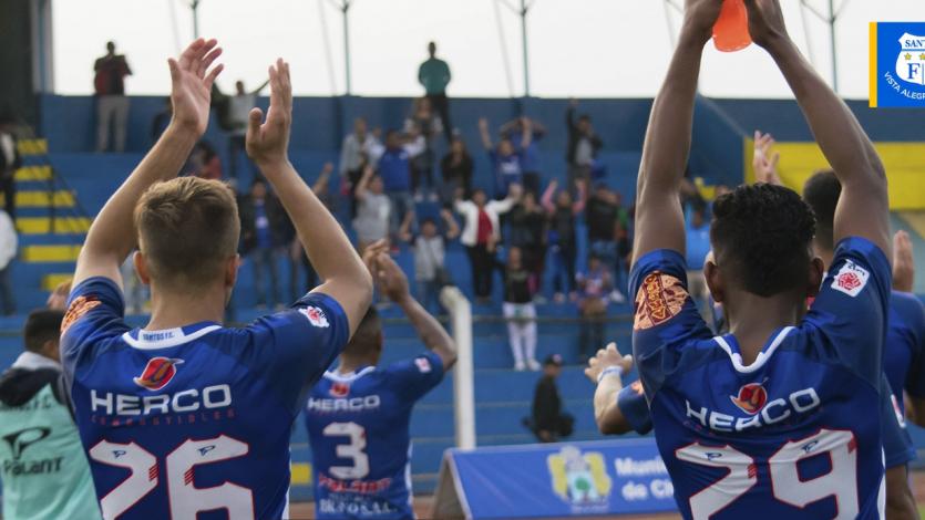 Liga2: Santos FC sumó su tercera victoria seguida y ya sueña con la Liga1 Movistar