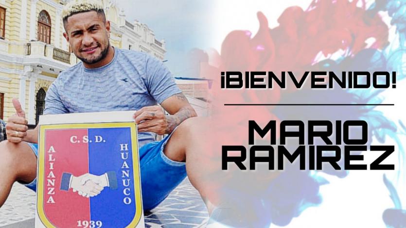 Alianza Universidad se reforzó con el colombiano de los golazos, Mario Ramírez (VIDEO)