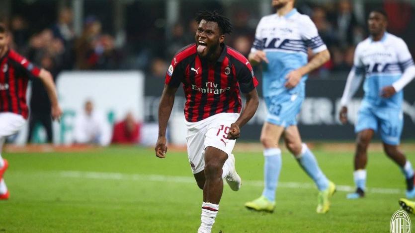 Milan superó a la Lazio y se mantiene en la 'Zona Champions'