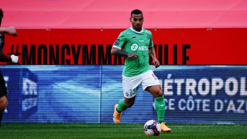 Miguel Trauco dio una gran asistencia en gol del triunfo del Saint-Étienne