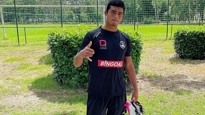 Kluiverth Aguilar ya entrena con su nuevo equipo en Bélgica