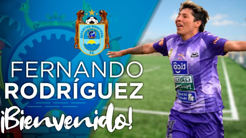 Deportivo Binacional se refuerza con goleador boliviano